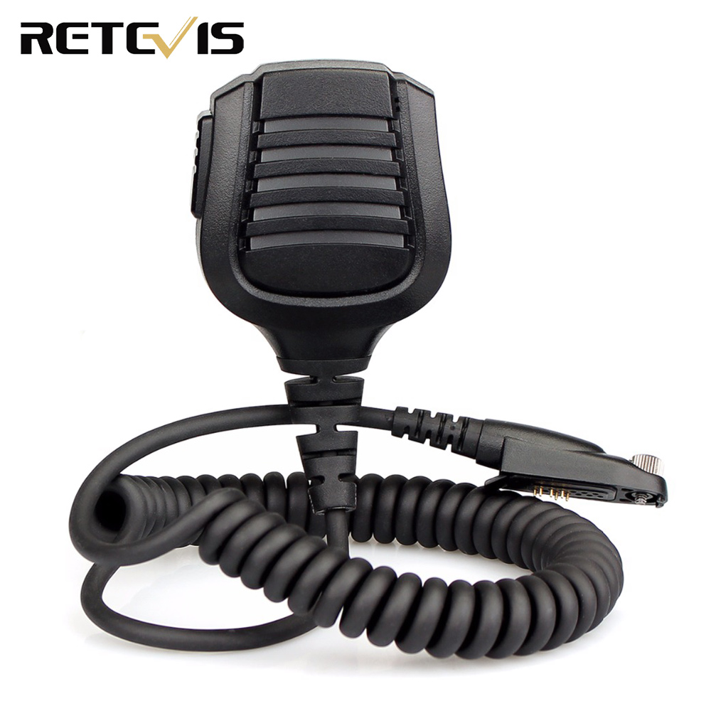 Retevis Speaker Microphone For Retevis RT82 Ailunce HD1 Dual Band DMR Digital Walkie Talkie J9127M