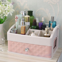 Colorful Plastic Cosmetics Drawer Storage Box Lipstick Jewelry Box Home Desktop Dressing Box Skin Care Products Storage Rack