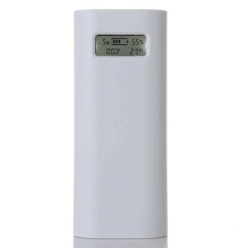 Soshine E4S Dual USB Intelligent Мощность банка для <font><b>Iphone</b></font> 5S <font><b>6</b></font> 6s 2&#215;18650 Батарея Зарядное устройство чехол ЖК-дисплей Дисплей мобильный телефон Мощность банк