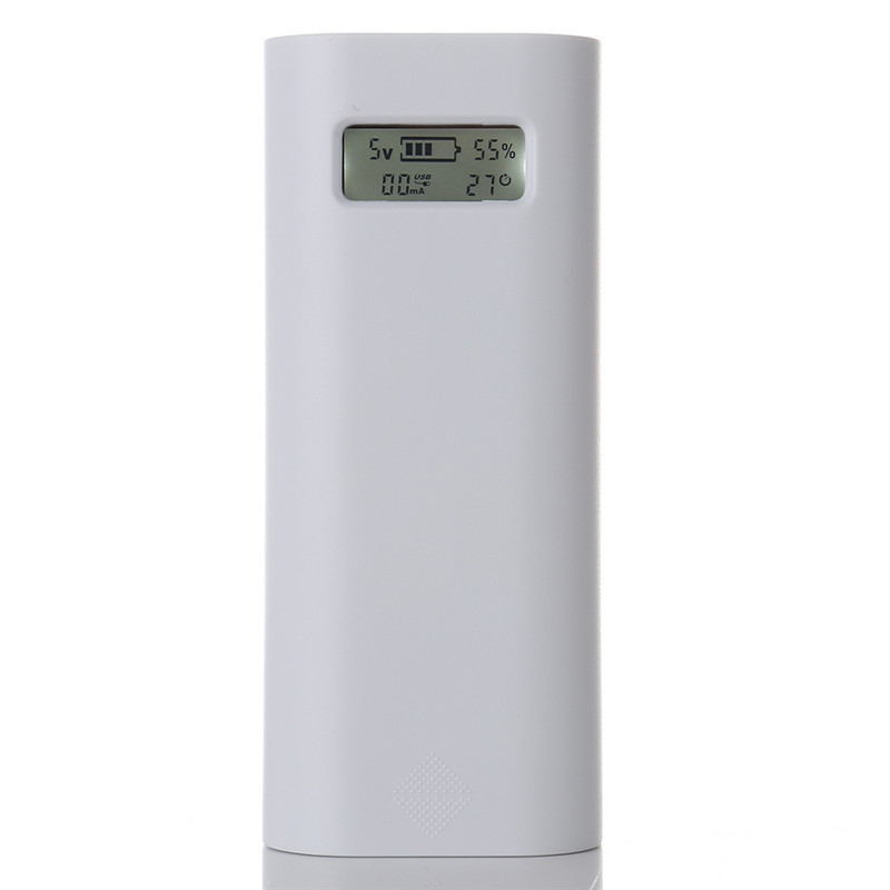 Soshine E4S Dual USB Intelligente Powerbank pour Iphone 5S 6 6 s 2x18650 Batterie Chargeur Cas LCD Affichage mobile Téléphone Power Bank