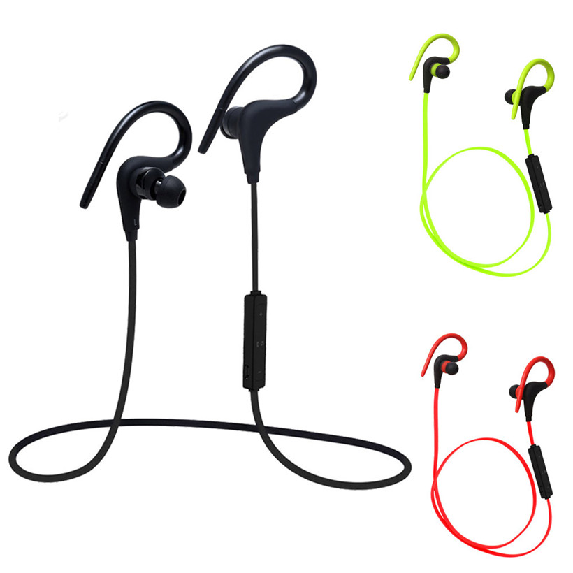 Hot Wireless Sports Stereo Sweatproof Bluetooth Earphone Headphone Earbuds Headset drop shipping 0803