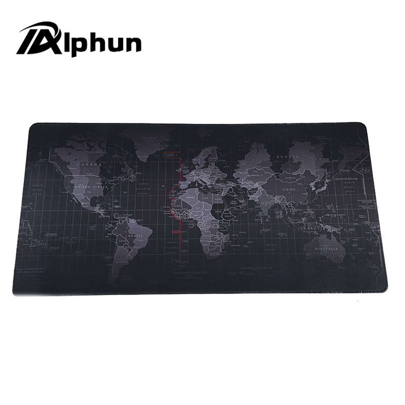 Alphun Fashion World Map mouse pad 2017 new large pad to mouse notbook computer mousepad gaming mouse mats to mouse gamer