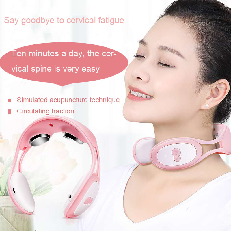 Cervical Massager Shoulder And Neck Kneading Home Neck Instrument Hot Pack Multifunctional Portable Adult