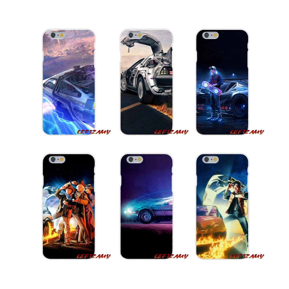 Back To The Future For iPhone X 4 4S 5 5S 5C SE 6 6S 7 8 Plus Accessories Phone Cases Covers