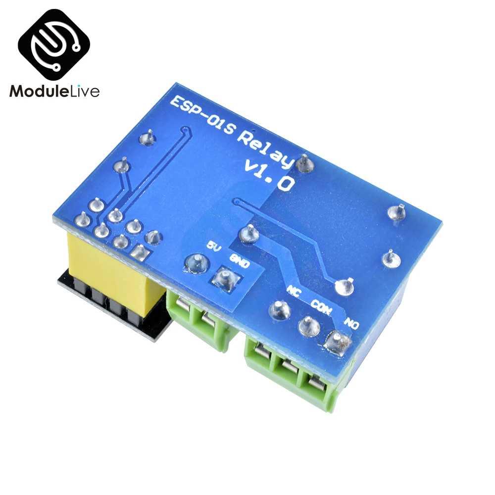 5 V ESP8266 ESP-01 moduł przekaźnika WiFi App zdalnego sterowania IOT przełącznik przekaźnika ESP01 bezprzewodowy dla Arduino inteligentnego domu Internet rzeczy