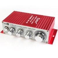 TECKEPIC Kinter MA-180 Mini Audio Amplifier-2CH Hallo-fi Autoradio Verstärker Amp 12 V Auto Power Amplifier Support-DVD/MP3 eingang
