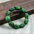 Burma's dry QingTie dragon growth life of turtle shell jade bracelet Jade guilin rich small water turtle lulutong beads