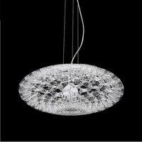 Современные акриловые Дизайн подвесные светильники Living столовая Кухня Подвеска светильник бар лестничные декоративный подвесной светиль