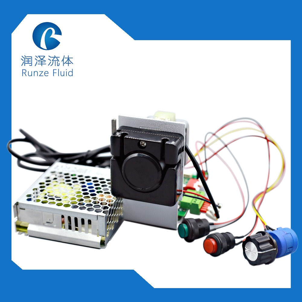 Mini Roller Selfpriming Peristaltic Dosing Pump OEM Support peristaltic pump basictype bt100m mc12 6 roller