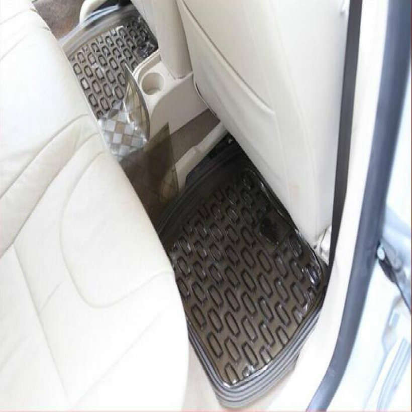 PVC kaymaz su geçirmez 46 * 46 CM evrensel arka koltuk araba - Araç Içi Aksesuarları - Fotoğraf 2