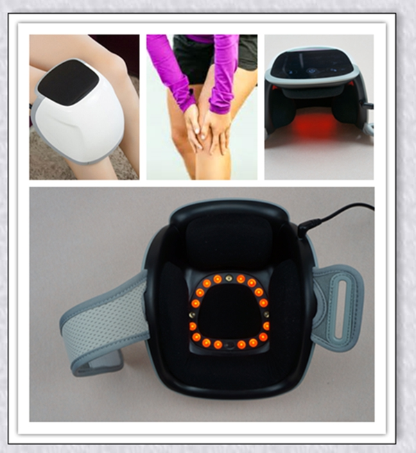 купить 660nm/808nm electric knee pain relief cold laser physical therapy electric  foot/elbow/shoulder massager в интернет-магазине