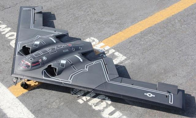 sky flight hobby b 2 b2 bomber 64mm rc aircraft kit format jet