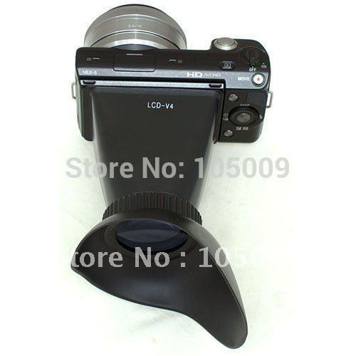 2.8x LCD viewfinder loupes Magnifier for SONY NEX-3 NEX-5 NEX 3 5 camera