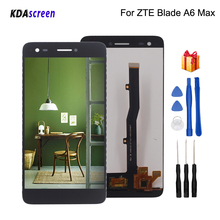 цена на High Quality For ZTE Blade A6 Max LCD Display Touch Screen Digitizer Assembly For ZTE Blade A6 Max Screen Display Free Tools