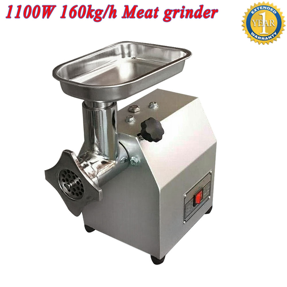 free shipping electric meat grinder mincer meat mince food grinder machine commercial meat slicer for vegetable market