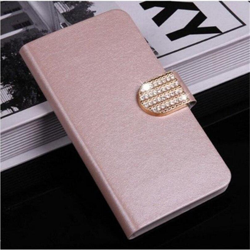 Flip Stand Style Book Soie Cas Capa Pour Alcatel One touch Pop 3 5015D 5025D Pixi 4 5045D 5010D Téléphone Cas Protection Shell