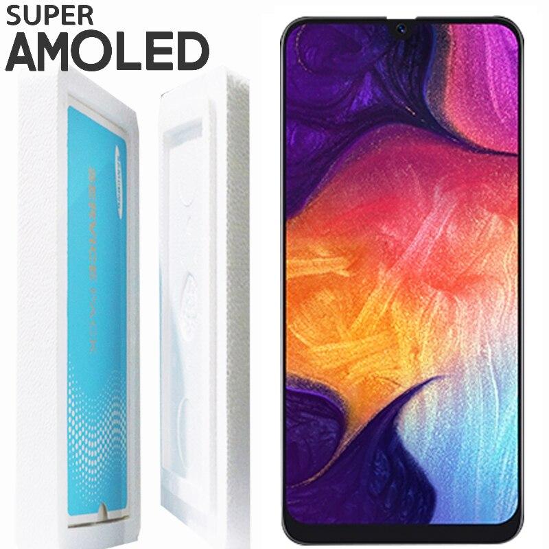 ORIGINAL 6.4 ''SUPER AMOLED จอแสดงผล LCD สำหรับ SAMSUNG GALAXY A50 A505F/DS A505F A505FD A505A Touch Screen Digitizer assembly-ใน จอ LCD โทรศัพท์มือถือ จาก โทรศัพท์มือถือและการสื่อสารระยะไกล บน AliExpress - 11.11_สิบเอ็ด สิบเอ็ดวันคนโสด 1
