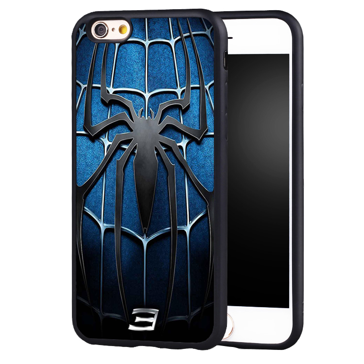 Spiderman <font><b>3</b></font> Spider Man <font><b>Logo</b></font> Printed <font><b>case</b></font> cover <font><b>For</b></font> <font><b>iPhone</b></font> 5 5C 5S SE <font><b>6</b></font> 6plus 6S 7 7Plus
