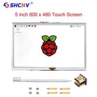 Raspberry Pi 2 Model B B 5 Inch LCD Screen TFT HDMI 800x480 RPI LCD Display