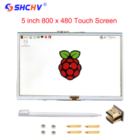 Raspberry Pi 2 Model B B 5 Inch LCD Screen TFT HDMI 800x480 RPI LCD Display