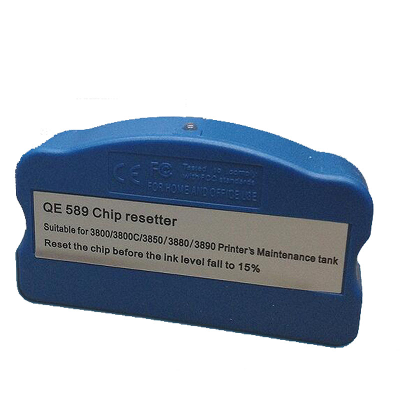 1pcs For Epson 3800 Maintenance Tank Chip Resetter For Epson stylus pro3880 3800 3890 3850 3885