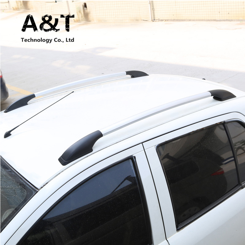 JGRT car stlying for Kia Carnival auto Free Punch aluminum alloy luggage rack 1.6m