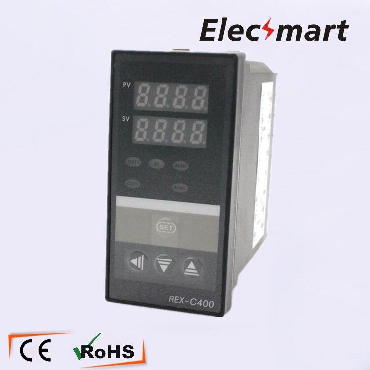 все цены на  48*96*110  REX-400C 0-400 Degree Digital PID Temperature Controller Thermostat Regulator Relay/SSR Multi-output  онлайн