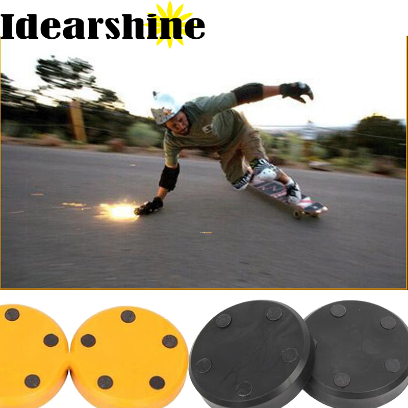 Slider Round Longboard Protection  Firestone 80mm*16mm Hard  Stone Night Slider