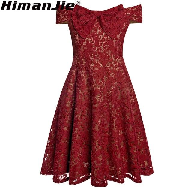 Plus Size Vintage Lace Dress