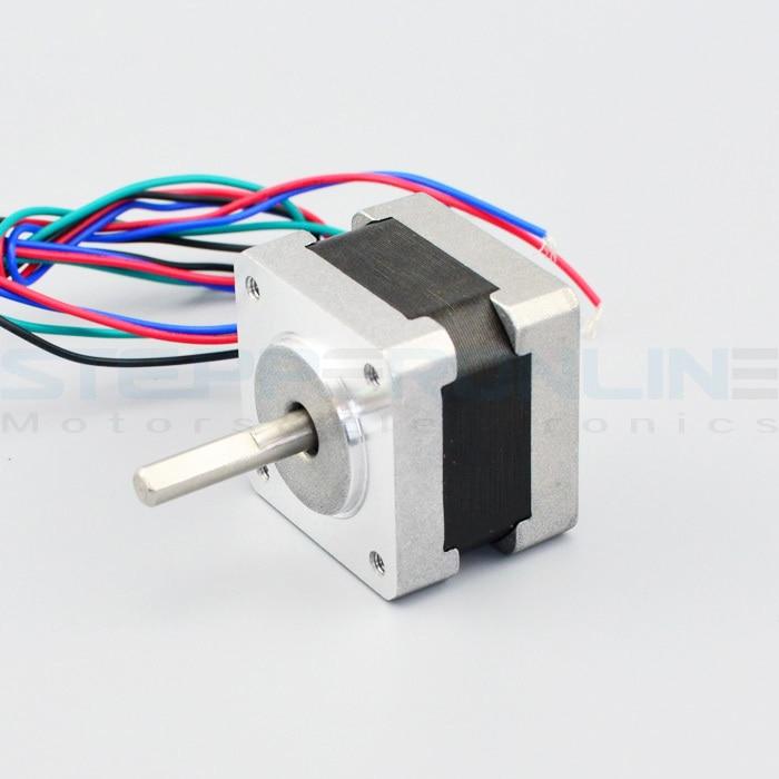 0.9 degree stepper motor Nema 14 Bipolar High precision motor Stepper Motor 0.4A 11Ncm 14HM11-0404S italy mae stepper motor 57 stepper motor 84v 3a high power stepper motor