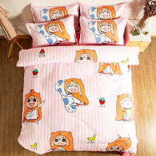 Mxdfafa Anime Himouto! Umaru-chan duvet cover Set Bedding Sets Luxury Duvet Cover sets Include 1 and 2 pillow Cases