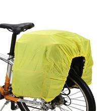 Āra atstarojošs ūdensnecaurlaidīgs vāks velosipēdu velosipēdu bagāžnieku iepakojuma maisiņš putekļu velosipēdu aizsargierīces riteņbraukšanas velosipēdu aksesuāri # 2M14