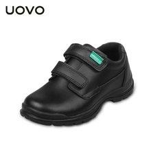 2017 New Boys Genuine Leather Shoes British Style Black Color Kids Moccasins Children Light Casual Footwear EU30-37 Espadrilles