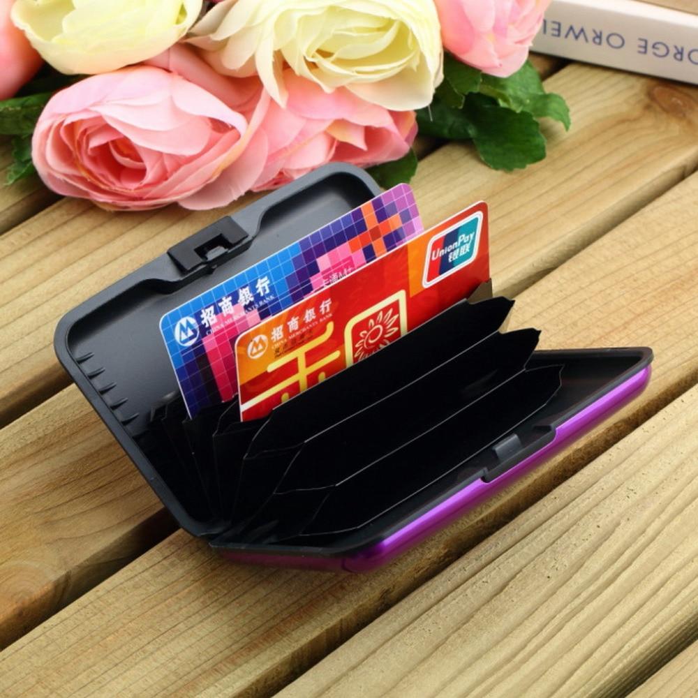 Waterproof Business ID Credit Card Holder Wallet Pocket Case ...