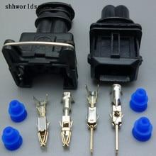Shhworld Sea 2-контактный штекер Электрический Авто Разъем Автомобильный топливный инжектор разъем 106462-1 EV1 282762-1