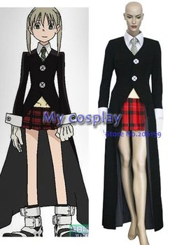 Anime Soul Eater Cosplay clothing - Soul Eater Cosplay Maka Albarn Women's Party Costume for Halloween Freeshipping фото