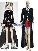 Anime soul eater cosplay abbigliamento-cosplay soul eater maka albarn donne del partito del costume per halloween freeshipping