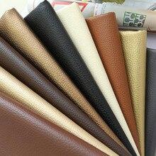 Buulqo Nice PU Tela de cuero sintético, Tela de cuero de imitación para coser, cuero artificial de la PU para el material del bolso DIY