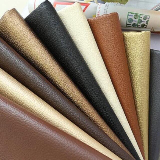 Buulqo Agradável PU Tecido de couro sintético, Tecido para Costura de Couro Do Falso, PU couro artificial para DIY saco de material