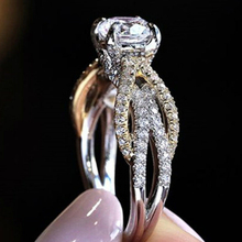Visisap Hollow Lines Icedout Ring Wedding Engagement Dropshipping Rings for Women Anniversary Girls Birthday Party Jewelry B2544