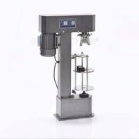 Single Head Automatic Capper Bottle Capping Machine Roll Over Pilfer Proof Capper DK 50 110V