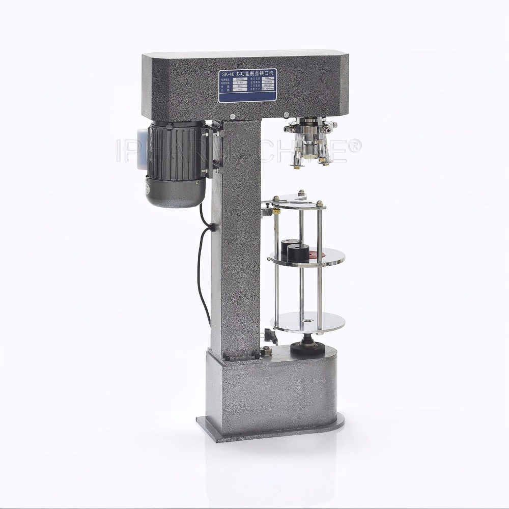 Single Head Automatic Capper , Bottle Capping Machine, Roll Over Pilfer Proof Capper DK-50 110V ювелирное изделие 26582