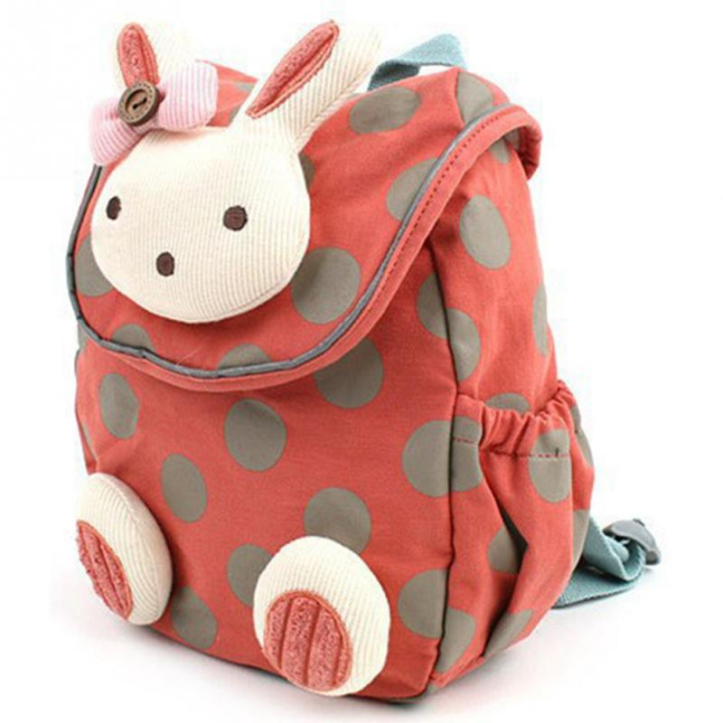30f622ba7c 2018 New Children boys girls 3D cute rabbit school bag anti-lost backpack  kids kindergarten bags