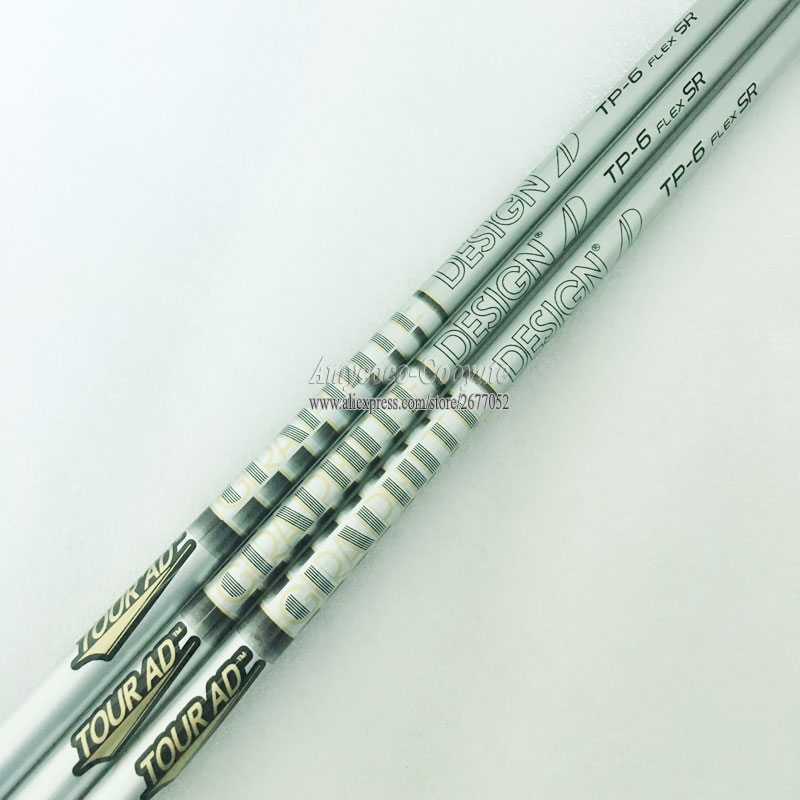 Cooyute New Golf shaft TOUR <font><b>AD</b></font> DESIGN TP-6 Golf driver shaft Graphite shaft R SR or S Flex Golf wood current Free shipping image