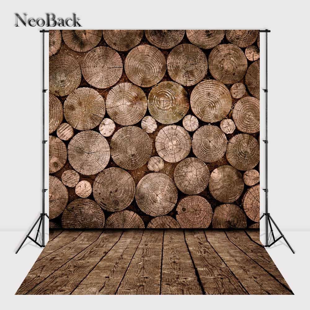 NeoBack Vinyl Cloth Wood Floor Photography Backdrop Children Kids Photographic Backdrops Printed Studio Photo backgrounds B1489 wood floor indoor photography backdrop cloth