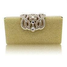 Diamanten Pailletten Schminktäschchen 2017 Mode Frauen Party Braut Luxus Abendtaschen Frau Handtasche Damen Handtaschen SMYCYX-A0050