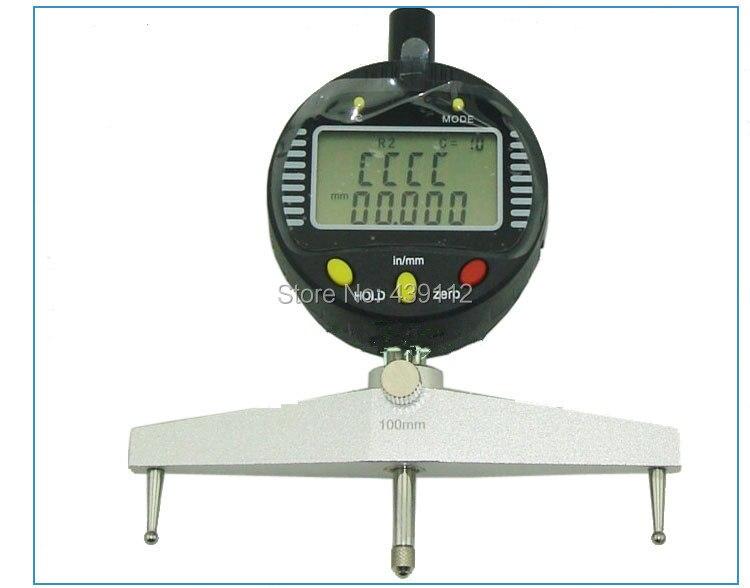 Free Shipping High accuracy digital radius gauge digital radius indicator Measurement Tool m style ваза настольная radius