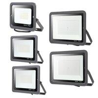 30 W 50 W 100 W 150 W 200 W 300 W 220 V светодиодный FloodLigh квадратный светодиодный прожектор водонепроницаемый IP65 профессиональное освещение на тоткрытом ...