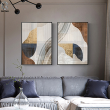 Abstract Geometric Canvas Print Poster Modern Wall Art Painting Picture for Living Room Decoration