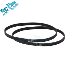 Loop Timing Belt Rubber 2GT 6mm 3D Printers Parts 110 112 122 158 200 280 300 400 610 852 mm Synchronous Belts Part
